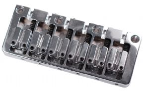CONTEMPORARY 6 STRING BASS BRIDGE CHROME